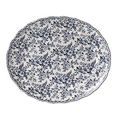 Johnson Brothers Devon Cottage Oval Platter 13.75 , 13.75 , Multicolored