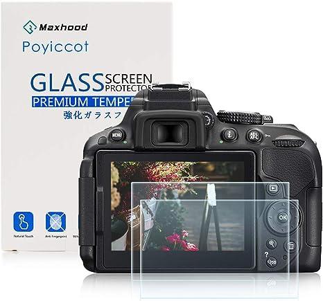 Nikon D5300 D5500 LCD templado protector de pantalla de cristal ...