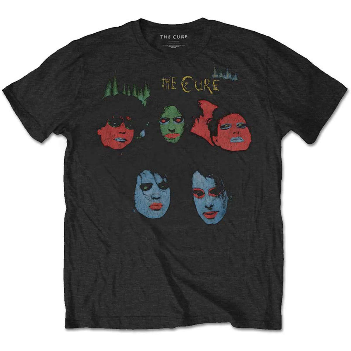 The Cure in Between Days The Head on The Door Official Tee T-Shirt Mens Unisex