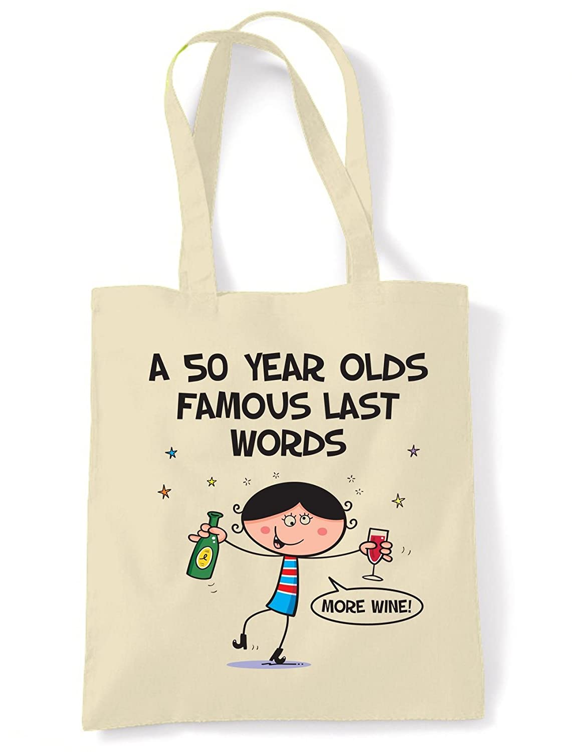 50th Old Banger Birthday Age 50 Bag For Life Shopping Tote Bag Ladies Gift