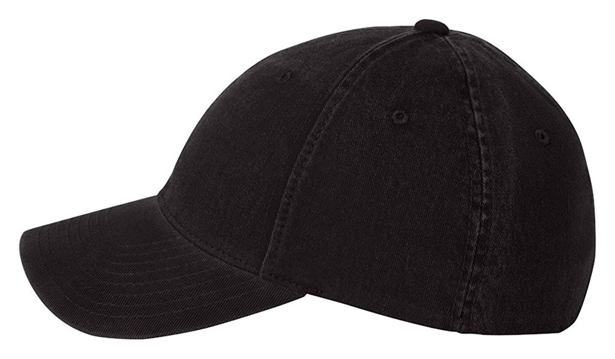 55bbbd3fe99 6997 Flexfit Low Profile Garment Washed Cotton Cap - Small Medium (Black)   Amazon.in  Clothing   Accessories
