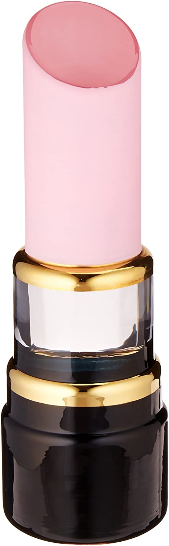 Kosta Boda Make Up Lipstick Sculpture, Pearl Pink