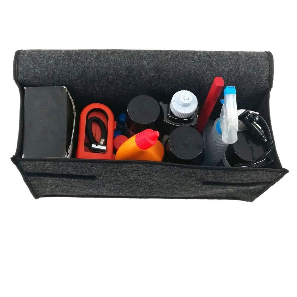 Grau About1988 Klappbox Kofferraumbox Faltbox Organizer Autobox Tasche Auto Kofferraum,Langlebig Faltende Aufbewahrungstasche Tool Kit Auto-Aufbewahrungsbox