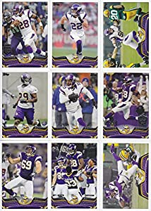 Minnesota Vikings 2013 Topps Complete14 Card Team Set