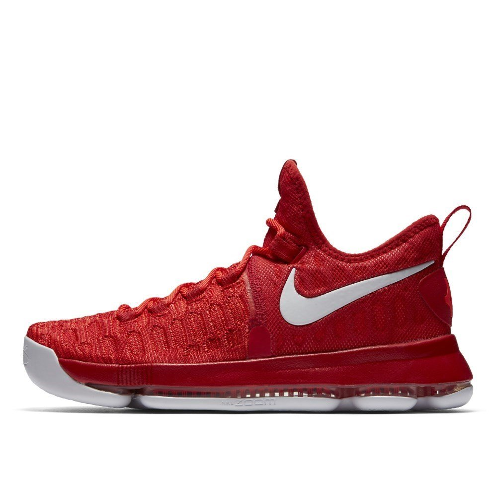 size 40 54144 46db1 Nike Zoom KD 9 Mens Basketball Trainers 843392 Sneakers Shoes (UK 9 US 10  EU 44, University red White 611)