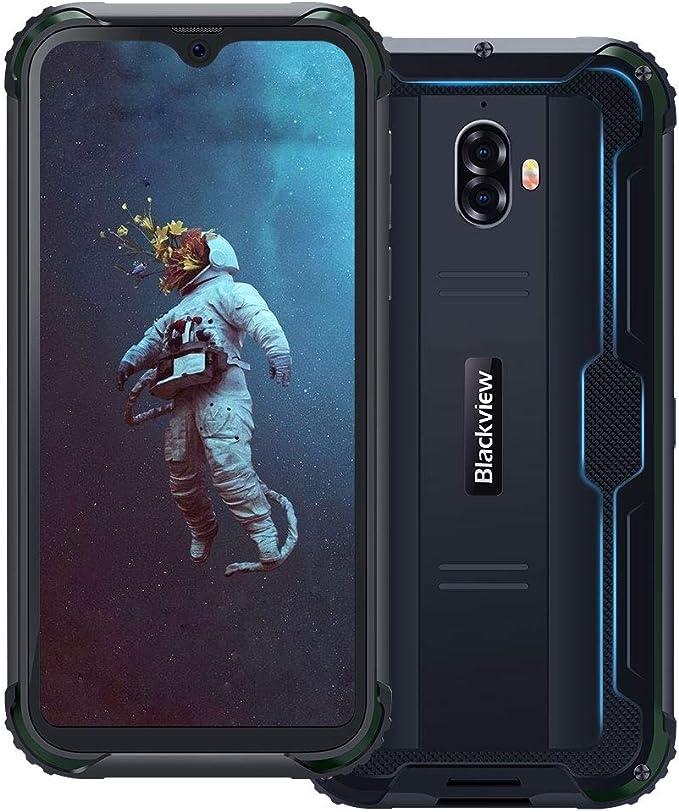 6 opinioni per 【2019】Blackview BV5900 Smartphone Antiurto IP68 Dual SIM, 4G Cellulare Android