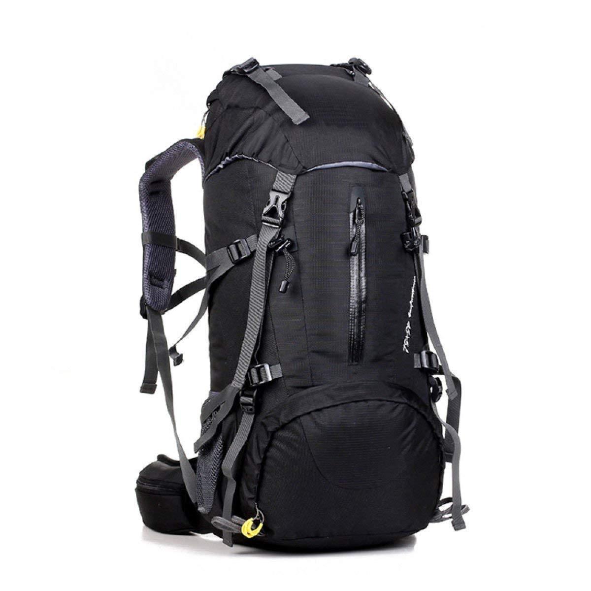 Lounayy Im Mit Baldachin Freien Wandern Stylisch Bergsteigen Taschen Mode Reisen Camping Sport Radfahren Fitness Skifahren Langlebig Rucksack 45 + 5L (Farbe   D, Größe   One Größe)