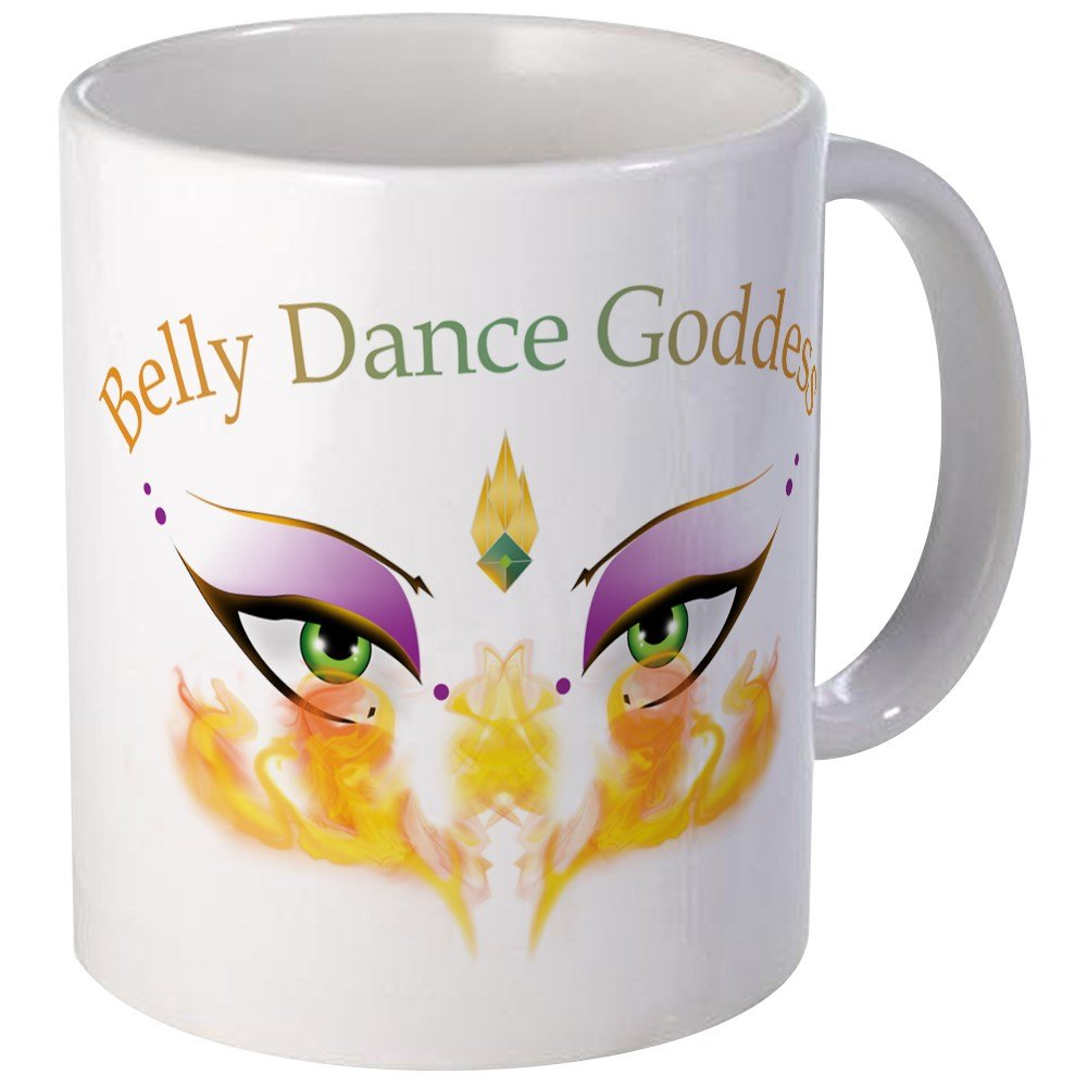 CafePress - Belly Dance Shimmy Chic Mug - Unique Coffee Mug, Coffee Cup
