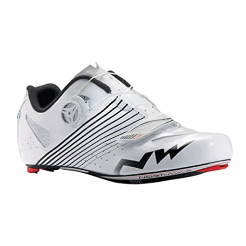 NORTHWAVE Torpedo Plus Zapatilla de Carretera Caballero, Blanco, 38.5: Amazon.es: Zapatos y complementos