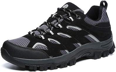 Zapatos de Senderismo para Hombres Zapatillas de Trail Running Zapatos para Caminar al Aire Libre Botas atléticas de Trekking Transpirables Zapatillas de Senderismo Impermeables: Amazon.es: Zapatos y complementos