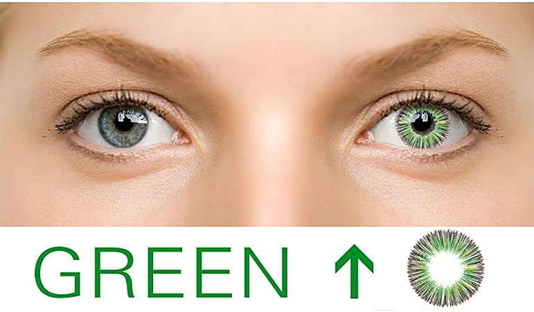 Ncient 1Pcs Lentillas 1 año Colores 0 Grados Lentes de Suave para Gran Diámetro Hermosos Ojos Cosplay Maquillaje: Amazon.es: Hogar