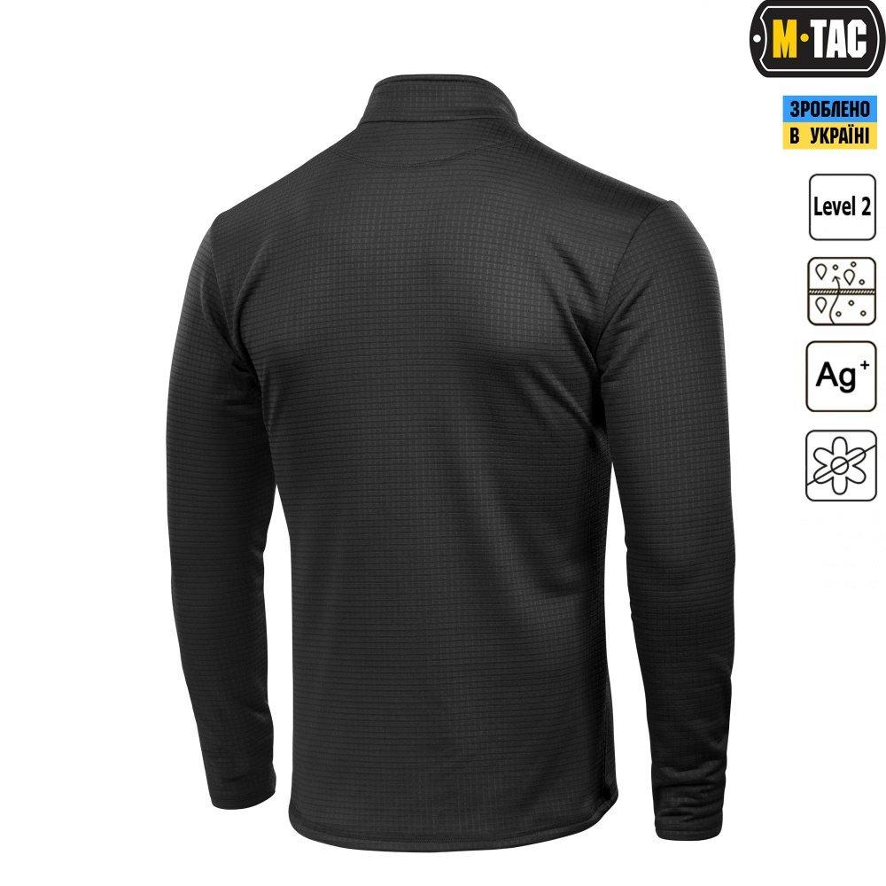 Delta Level 2 Mens Top Thermal Underwear for Men Fleece Lined Compression Shirt