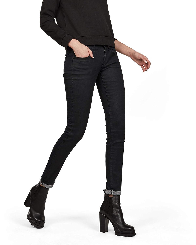 TALLA 26W / 32L. G-STAR RAW Lynn Mid Waist Skinny' Vaqueros para Mujer
