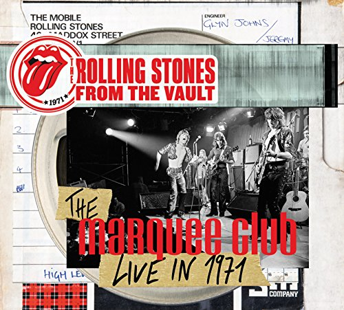 DVD : The Rolling Stones - The Rolling Stones From the Vault: The Marquee Club Live in 1971 (With CD, 2 Disc)