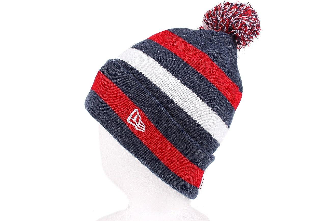 Amazon.com   NFL New England Patriots Sport Knit Hat   Sports Fan Beanies    Clothing 2bcccd9fcf47