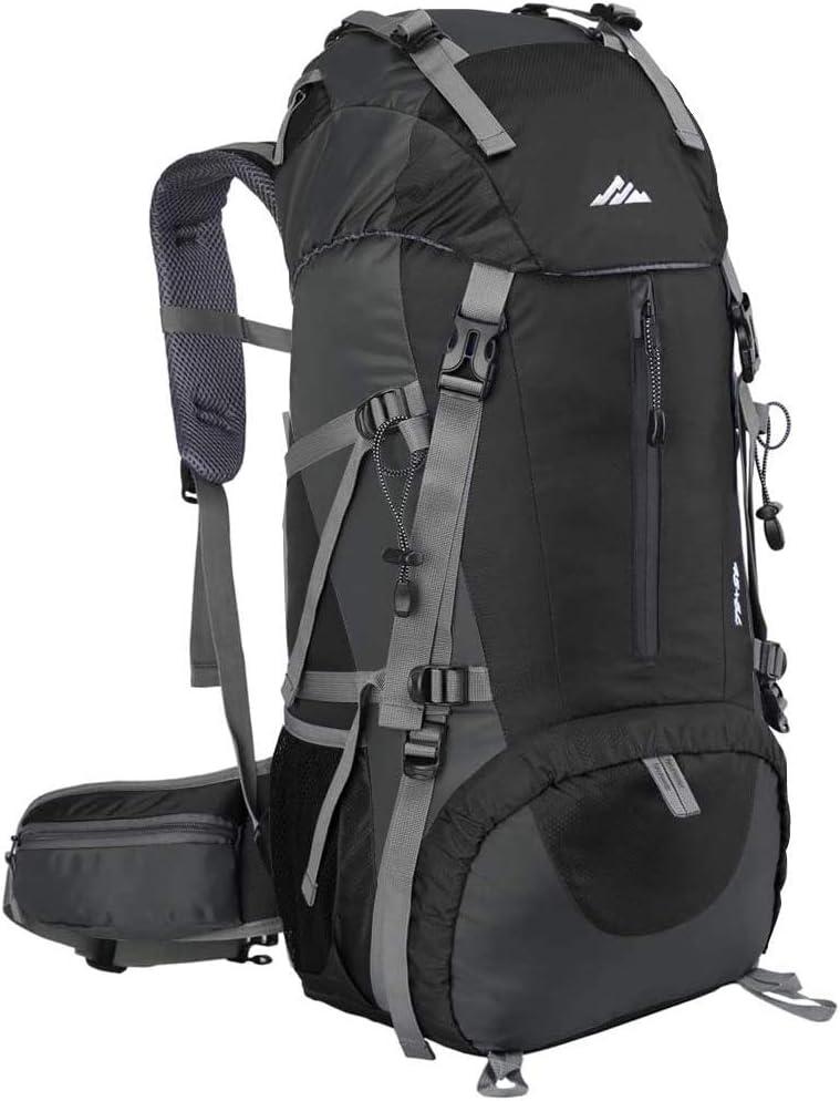 Loowoko Hiking Backpack, 50L Waterproof Travel Backpack Trekking Rucksack  Mountaineering Backpack with Rain Cover for Men Women Outdoor Sport:  Amazon.co.uk: Sports & Outdoors