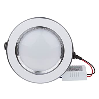 Bloomwin Spot Led Encastrable Plafonnier Dimmable Extra Plat 7w 700lm Blanc Chaud 2600 2800k 220v