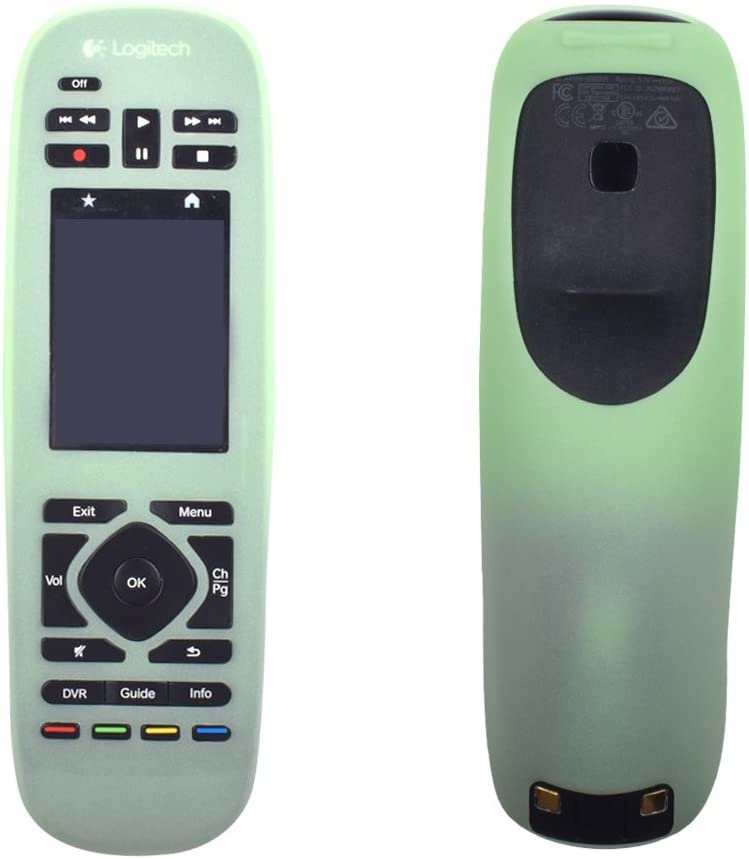 Silicone Protective Case Cover for Logitech Harmony Ultimate Remote Control/Harmony Ultimate One Remote/Logitech Harmony Ultimate Home/Logitech Harmony Ultimate Home Touch Case-Green