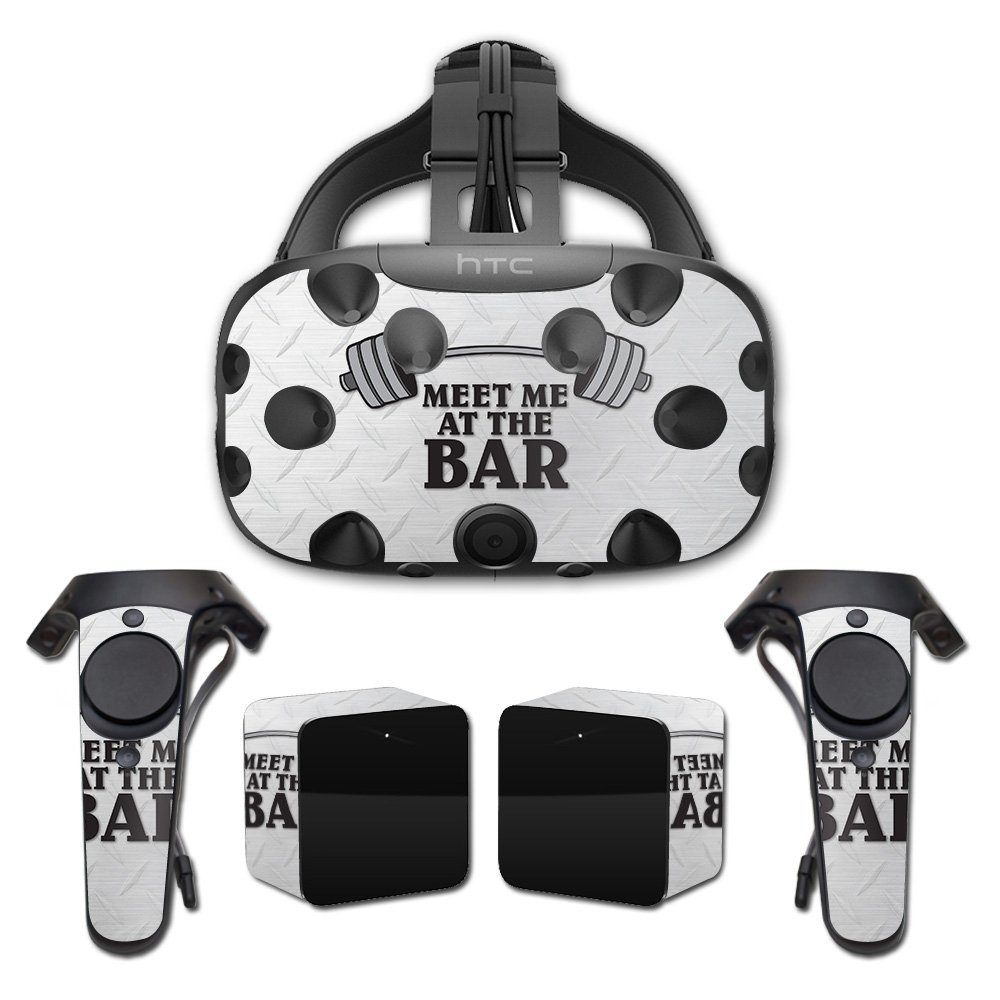 MightySkins Skin For HTC Vive Full Coverage - Meet Me At The Bar | Protective, Durable, and Unique Vinyl Decal wrap cover | Easy To Apply, Remove, and Change Styles | Made in the USA