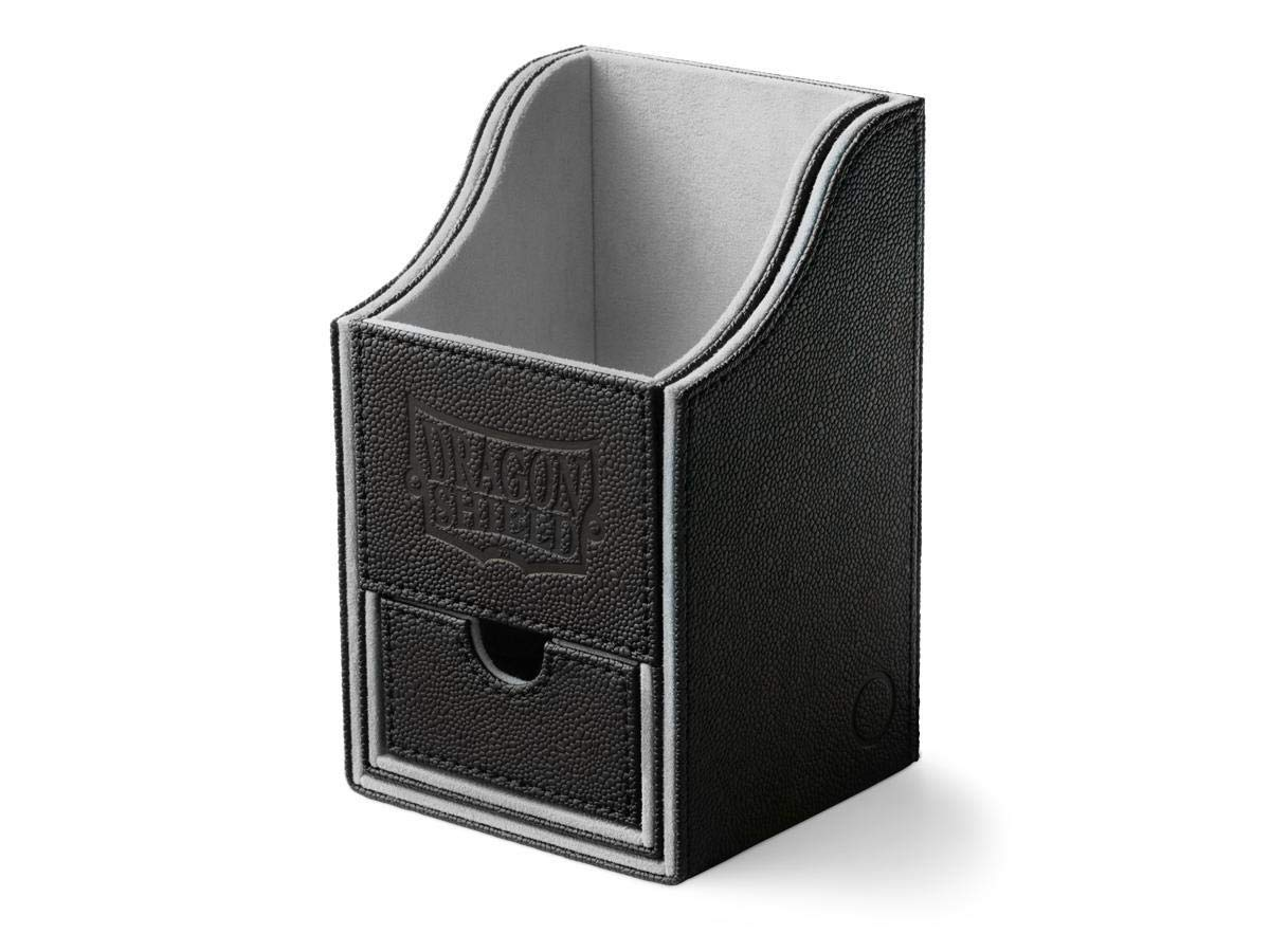 Dragon Shield: Nest Plus Deck Box - Black and Light Grey