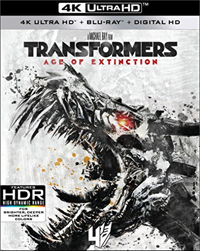 4K Blu-ray : Transformers: Age Of Extinction (With Blu-Ray, 4K Mastering, Widescreen, Dolby, AC-3)