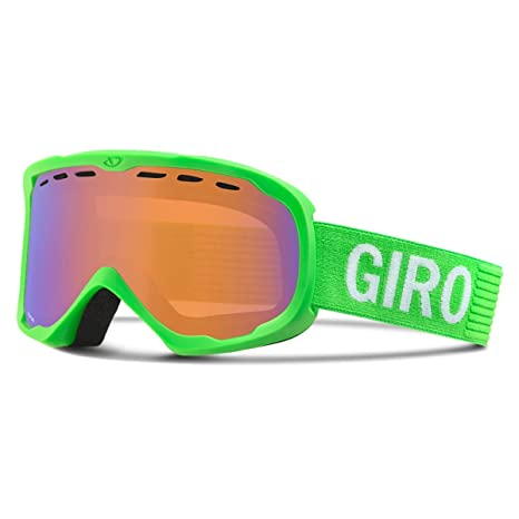 4b4f8cf91d2b Giro Focus Snow Goggles Bright Green Monotone   Persimmon Boost
