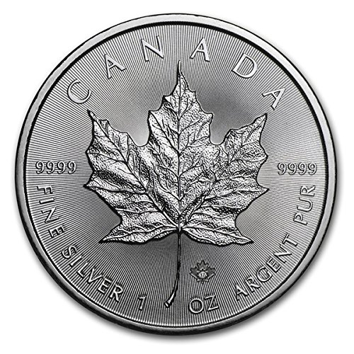2017 CA Canada Silver Maple Leaf (1 oz) $5 Brilliant Uncirculated Royal Canadian Mint (5 Dollars Silver Proof)
