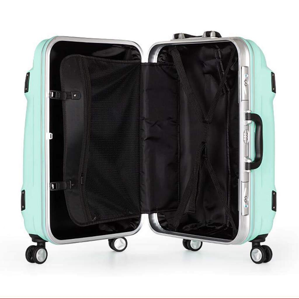 CLOUD Luggage Sets Travel Suitcase Color : Gold, Size : 28 inches Male and Female Lightweight ABS Air Carrier Trolley Case Lock 4 Wheels