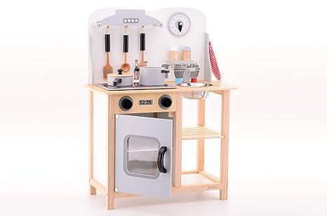 Jouéco accessori cucina giocattolo in legno amazon prima infanzia