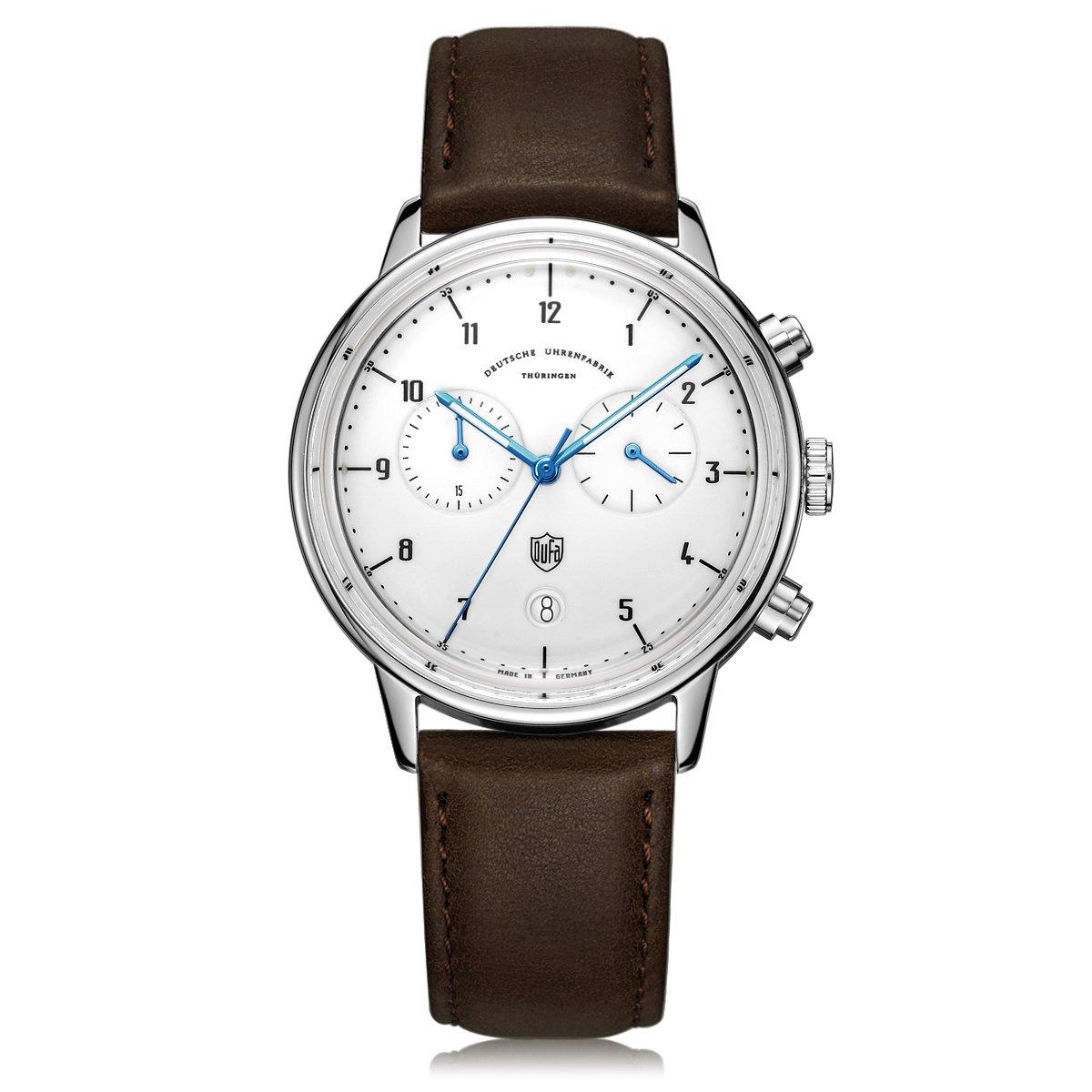 Df Quarz Dufa Armband Uhr 02 Unisex Leder 9003 Chronograph Mit cS5AL4q3Rj