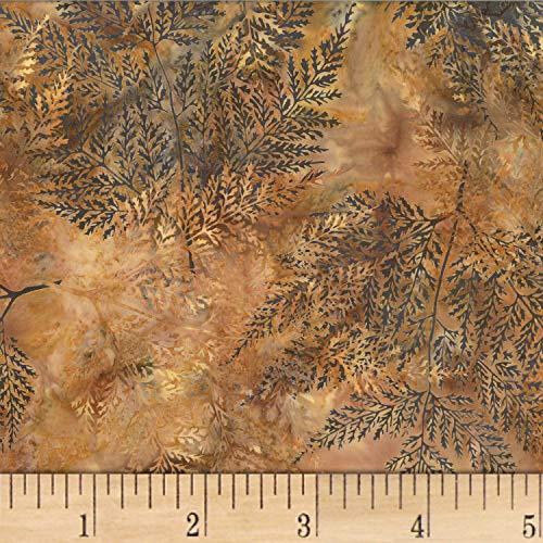 Hoffman Fabrics Bali Batik Fern Palomino, Fabric by the Yard