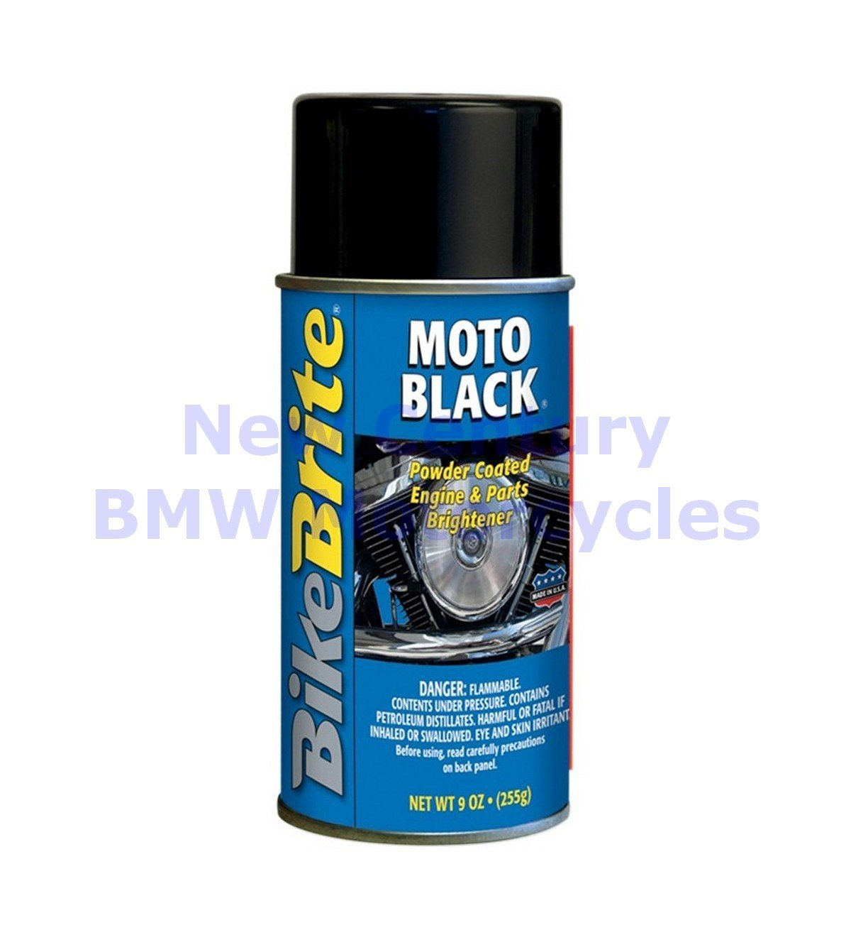 Bike Brite Moto Black Powder-Coat Engine Cleaner (ea) for Motorcycles (DS-700036)
