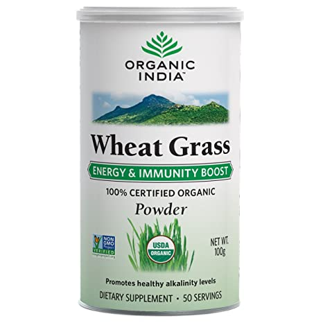 Buy Organic India Wheat Grass - 100 g Online at Low Prices in