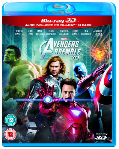 Marvel Avengers Assemble (Blu-ray 3D + Blu-ray) [Region Free] (Marvels Avengers 3d Blu Ray compare prices)