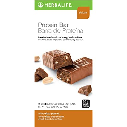 Herbalife Protein Bars - Chocolate Peanut (14 Bars per box ...