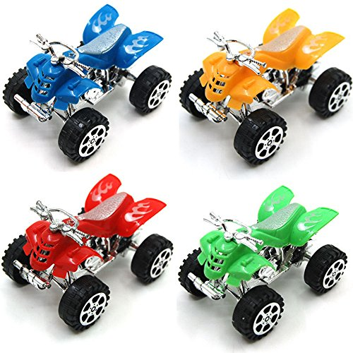 12pcs Pullback Motors Racers Dune Buggy Racing Pull-back ATV