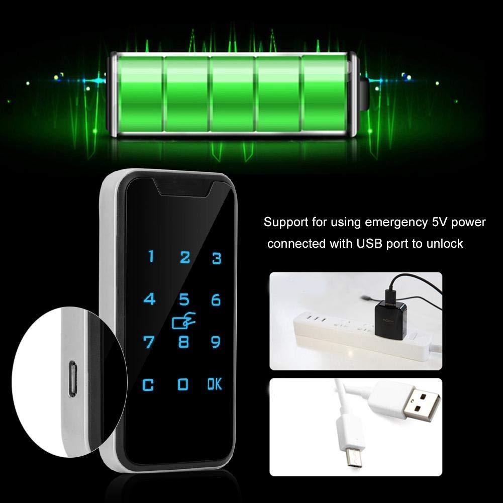 elektronisches Schrankschloss Elektronisches Schrankschloss intelligentes digitales RFID-Passwortschloss mit Touch-Tastatur