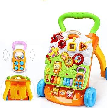Amazon.com: Baby Walker con bandeja de juego multifunción ...