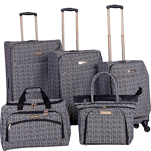 Piece Luggage Set (Black) (Bryant Set)