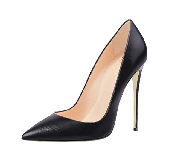 SexyPrey Women's Pointed Toe Thin High Heels Large Size Solid Court Shoes  for Spring Autumn: Amazon.co.uk: Shoes & Bags