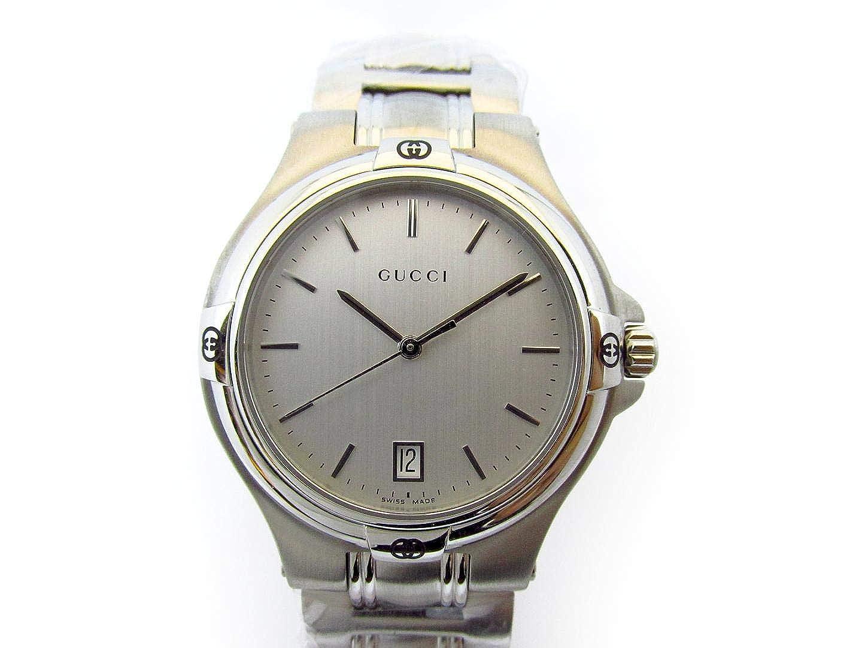 5728f1b65a27 Amazon | [グッチ] GUCCI 腕時計 ウォッチ シルバー ステンレススチール(SS) YA090318 [中古] メンズ |  並行輸入品・逆輸入品・中古品(メンズ) | 腕時計 通販
