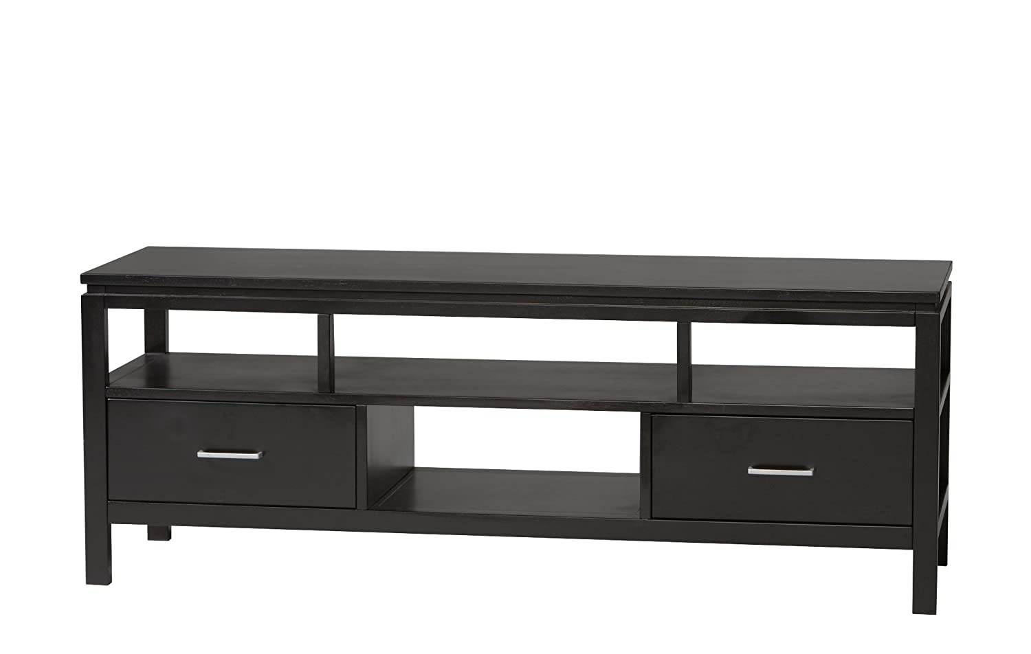 Amazon.com: Linon Sutton Black Plasma TV Center: Kitchen & Dining