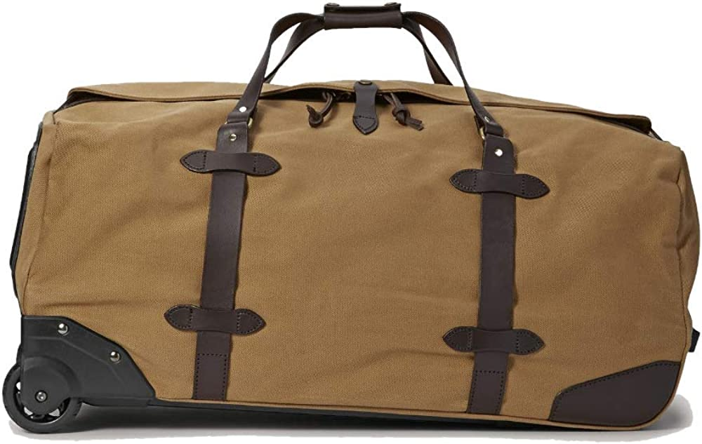 Filson Rugged Twill Rolling Duffle Bag Large, Tan