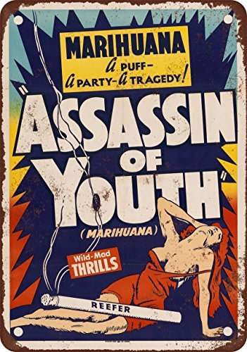 Amazon.com: 1937 Marijuana Assassin of Youth Vintage Look ...