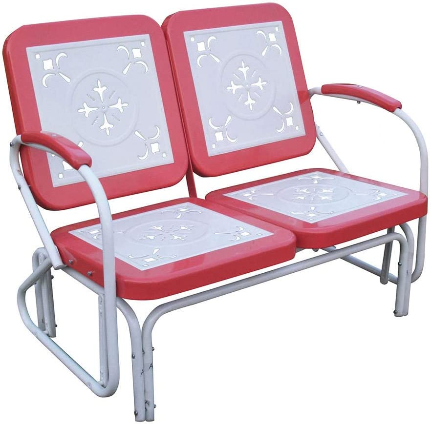 4D Concepts 71550 Metal Retro Glider (Discontinued by Manufacturer)