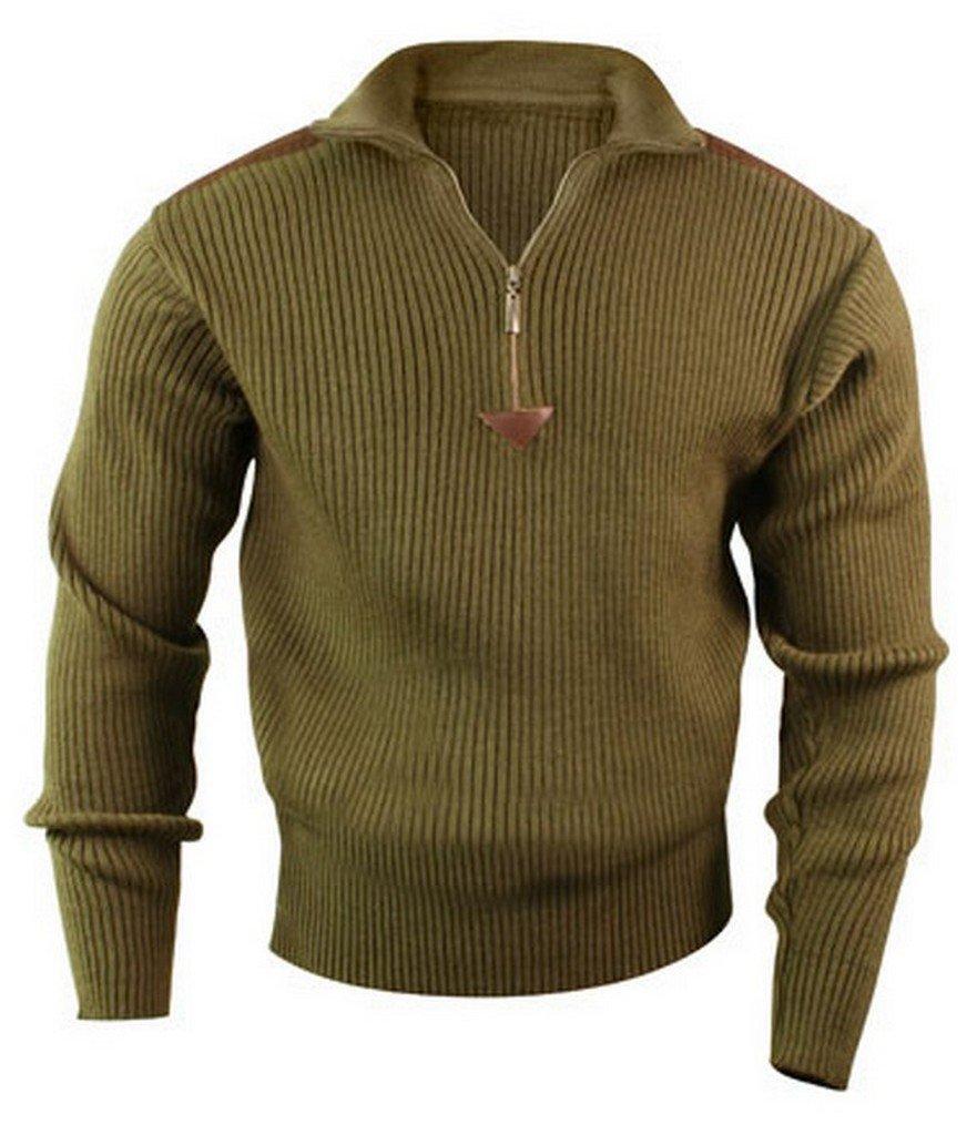 Rothco 1/4 Zip Acrylic Commando Sweater