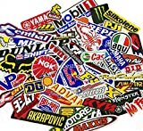 45 Pcs Mixed Random Motocross Motorcycle Car Racing Decal Stickers