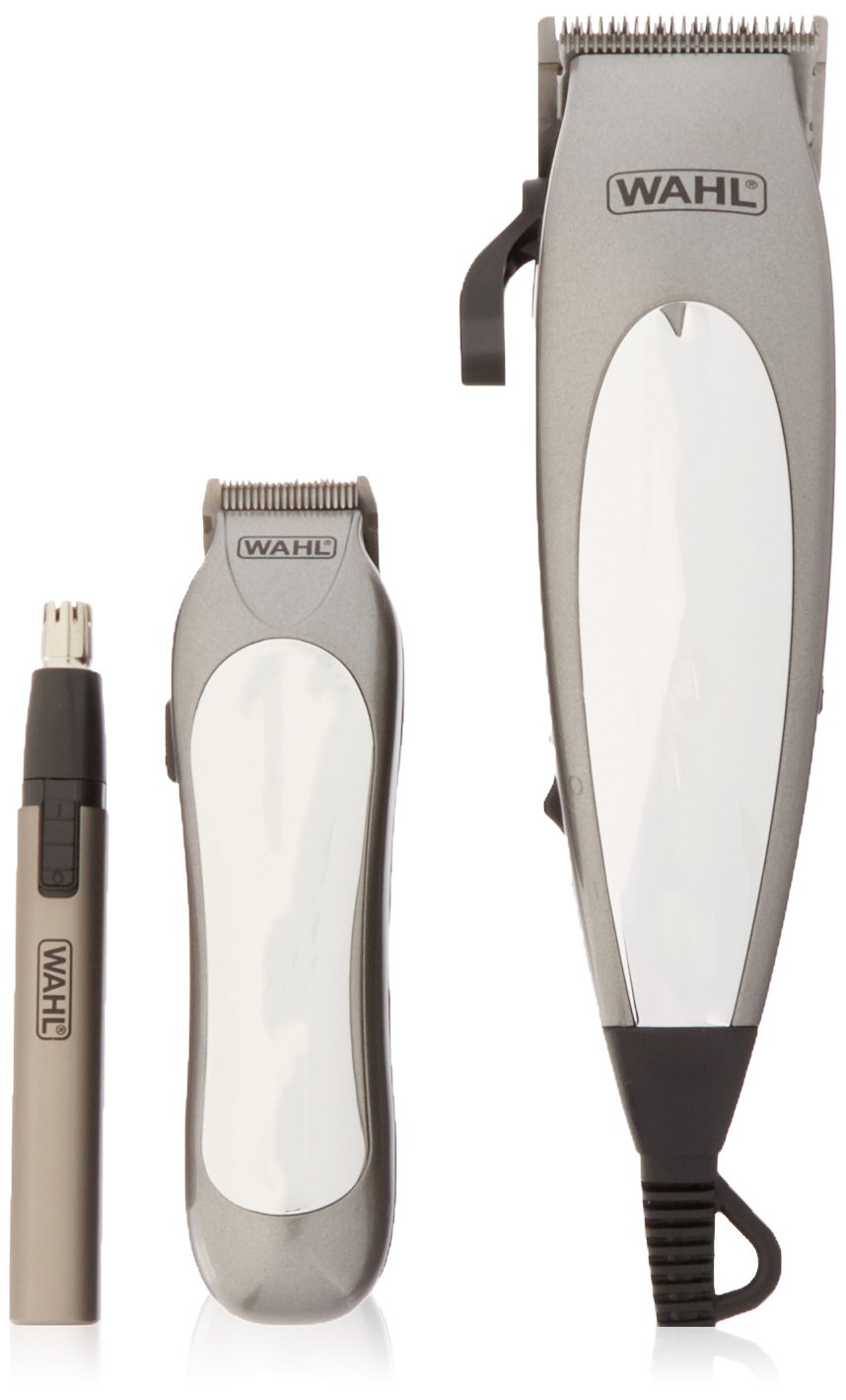Amazon.com: Wahl 79305-3658 Deluxe Groom Pro 21 Piece Complete Hair Clipper Cutting Kit, 220 Volts: Beauty