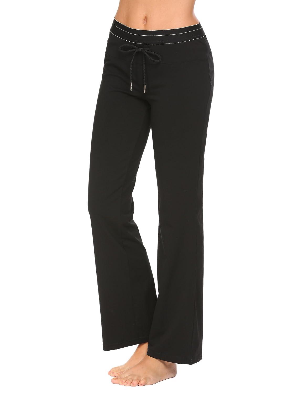 Ekouaer Womens Pajama Pants Casual Sport Track Pants Loose Yoga Pants Plus Size S-XXL