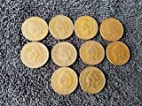 1884 indian head penny - 1880 1881 1882 1883 1884 1885 1886 1887 1888 1889 Complete Decade U.S. Indian Head Cents - 10 coins Penny Circulated